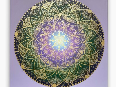 2437  Material: Acrylfarben •  Leinwand Größe 50 x 50cm   Tiefe:  3 cm   •  Preis: 359 €