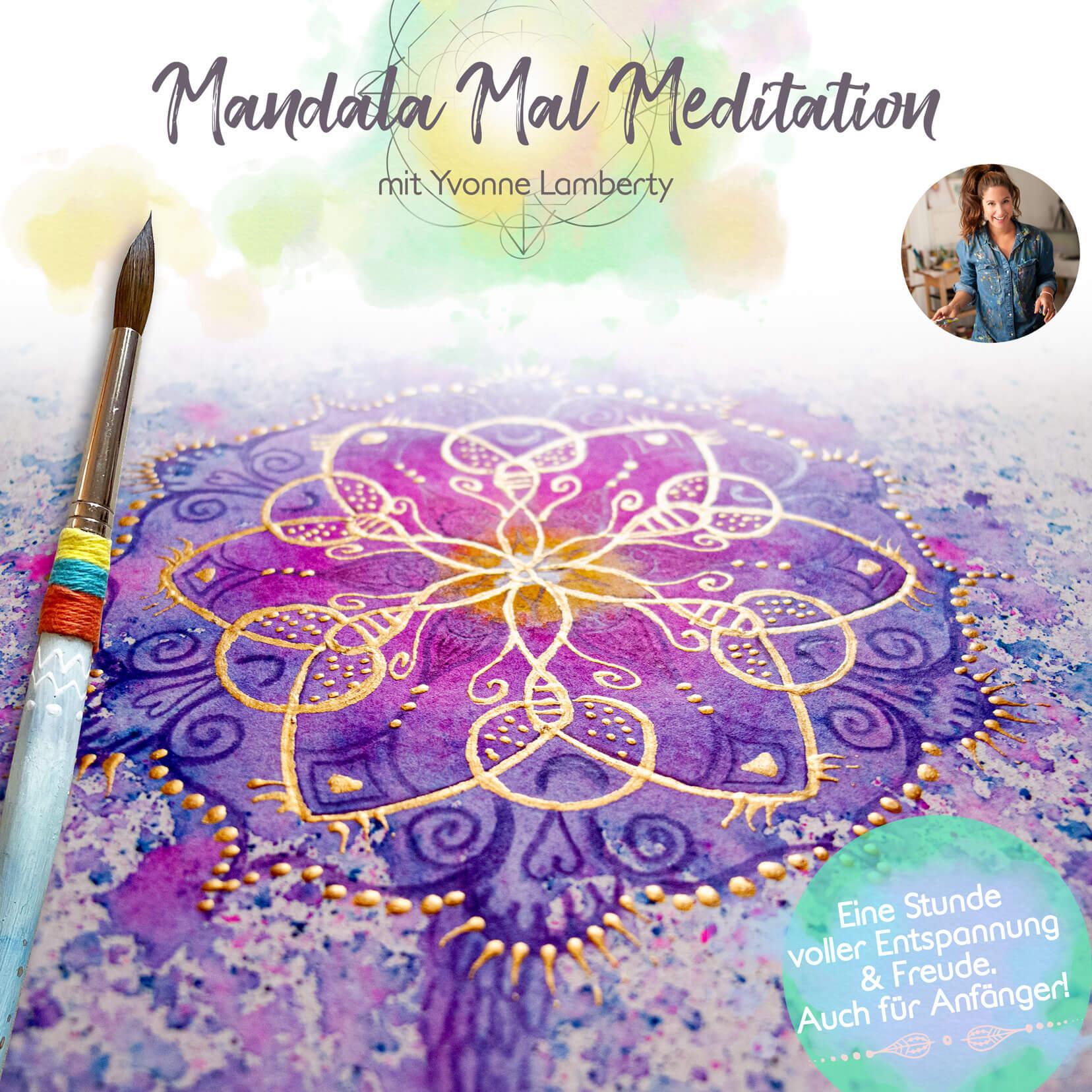 Mandala Mal Meditation Kurs